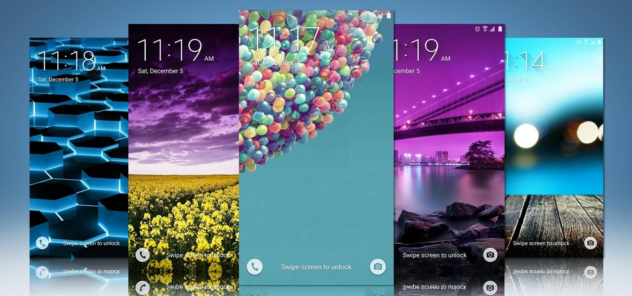 Set Rotating Lock Screen Wallpapers on Samsung Galaxy Devices
