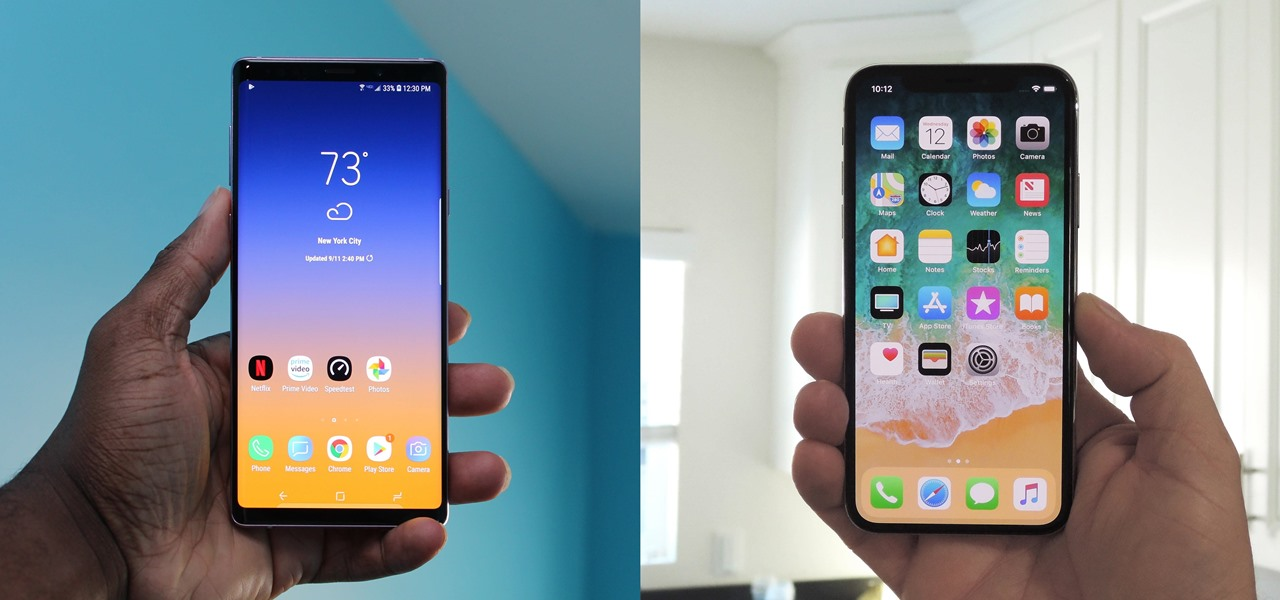 iPhone XS Max vs. Samsung Galaxy Note 9: The Best of the Best