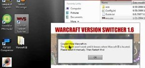 Use the  Warcraft III version switcher