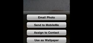Email photos from your iPhone