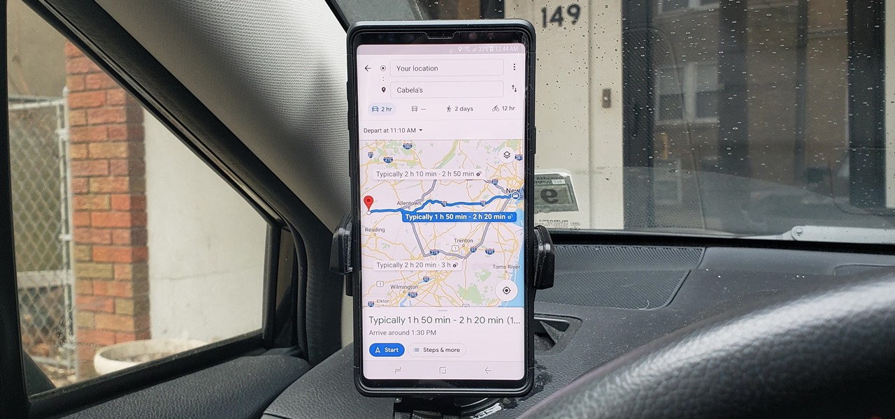 How to See What Traffic Will Be Like at a Specific Time with Google Maps