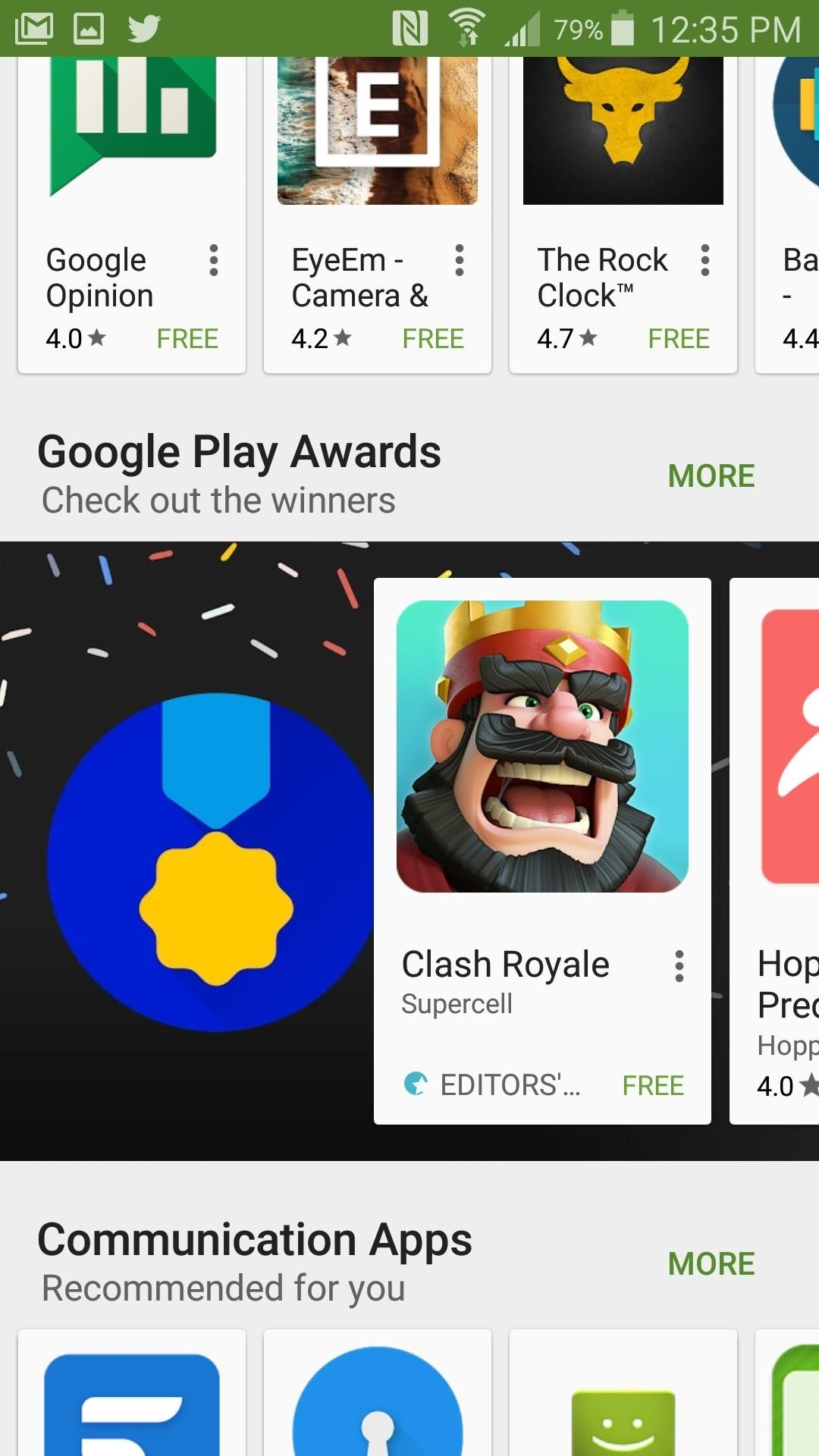 The Google Play Store Has a New Way to Discover Great Apps