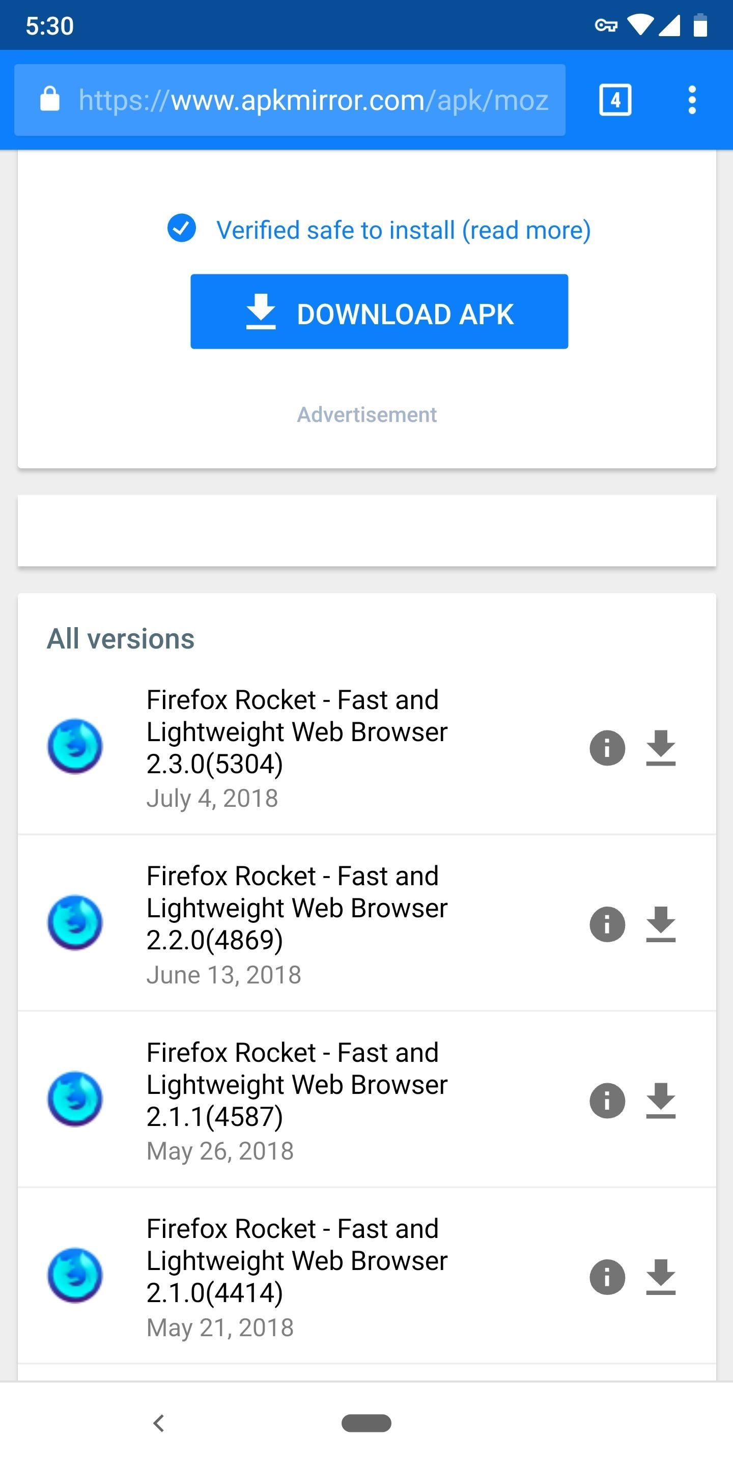 Use Firefox Rocket to Browse the Web Faster & Save Data on