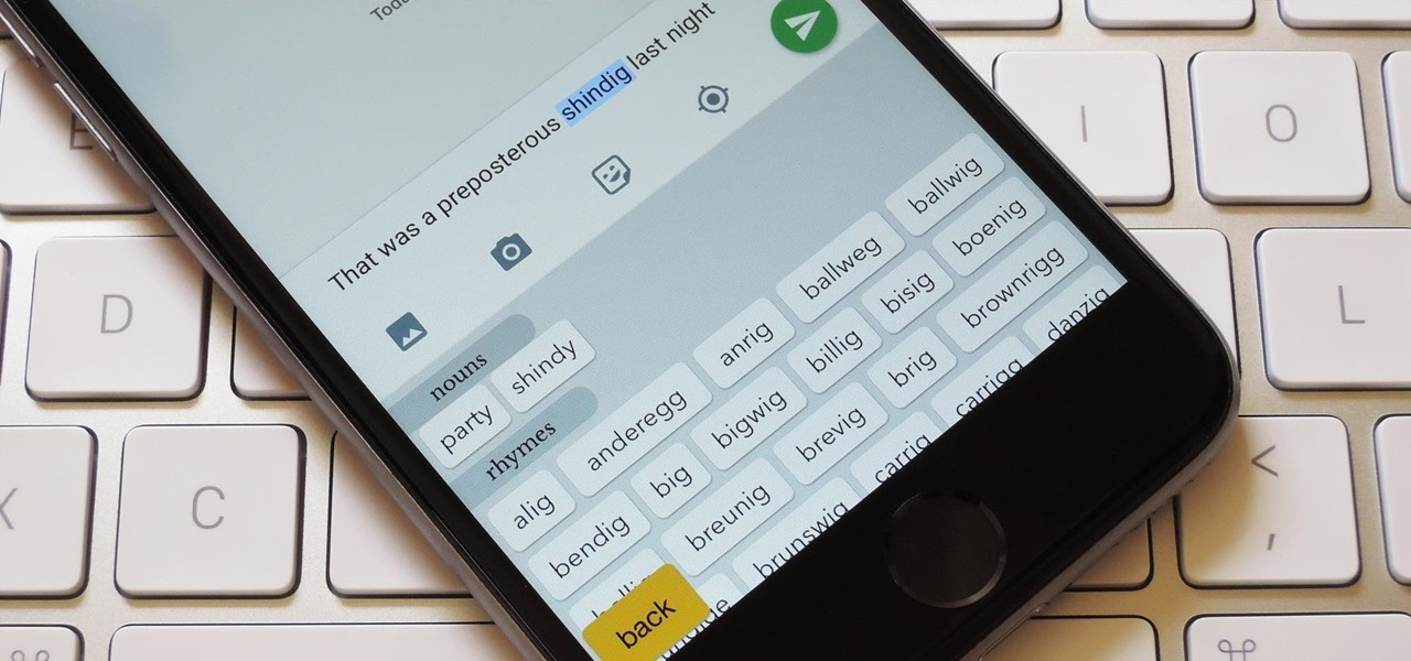 Get Rhymes, Puns, & Synonyms Right from Your iPhone or iPad's Keyboard
