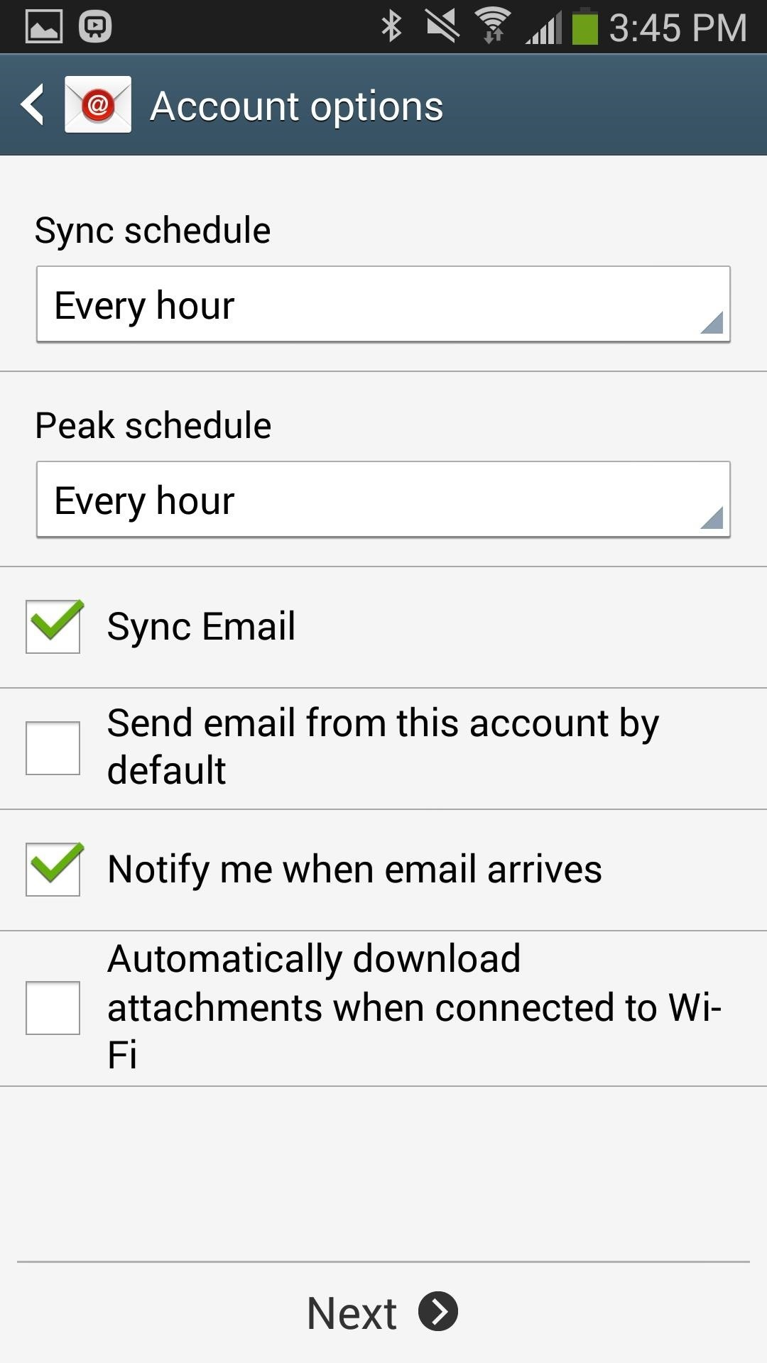 icloud mail login on android