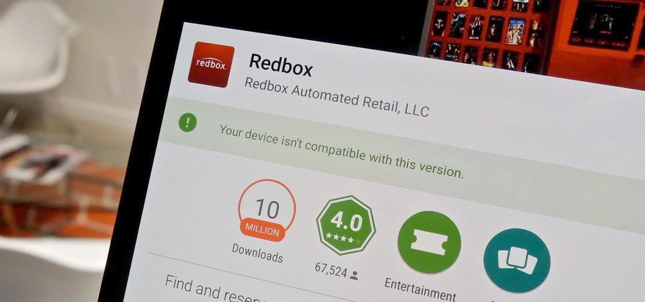 Get Redbox Working on Incompatible Android Devices