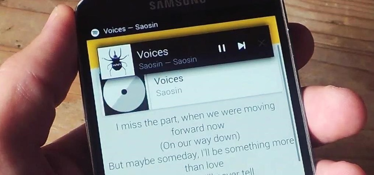 Instantly Get Song Lyrics on Android with QuickLyric