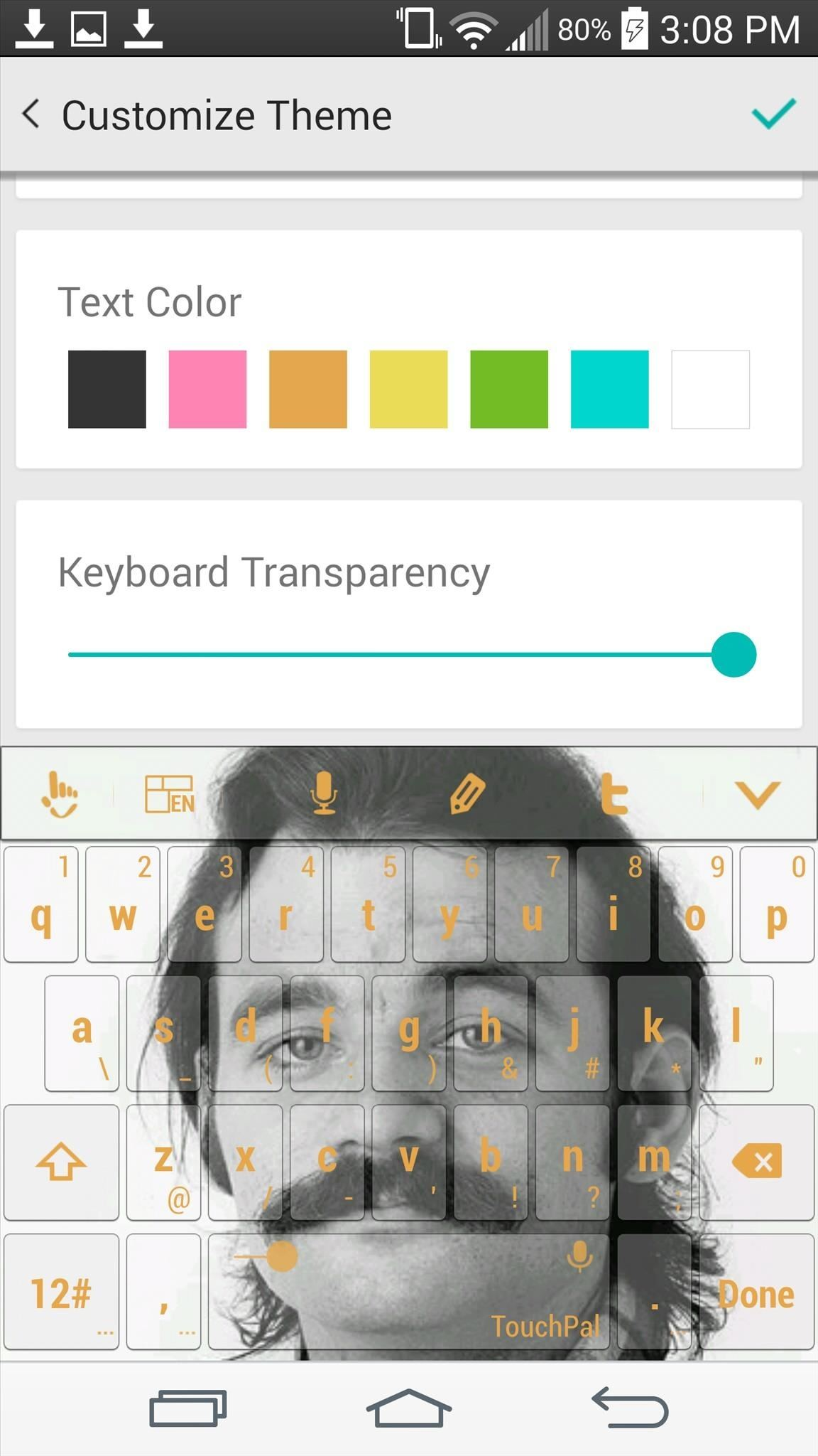 TouchPal's Update Makes It the Most Themable Android Keyboard to
