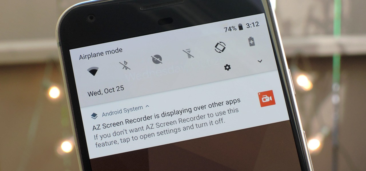 Android 8.1 Oreo Lets You Hide 'Running in the Background' & 'Drawing Over Other Apps' Notifications