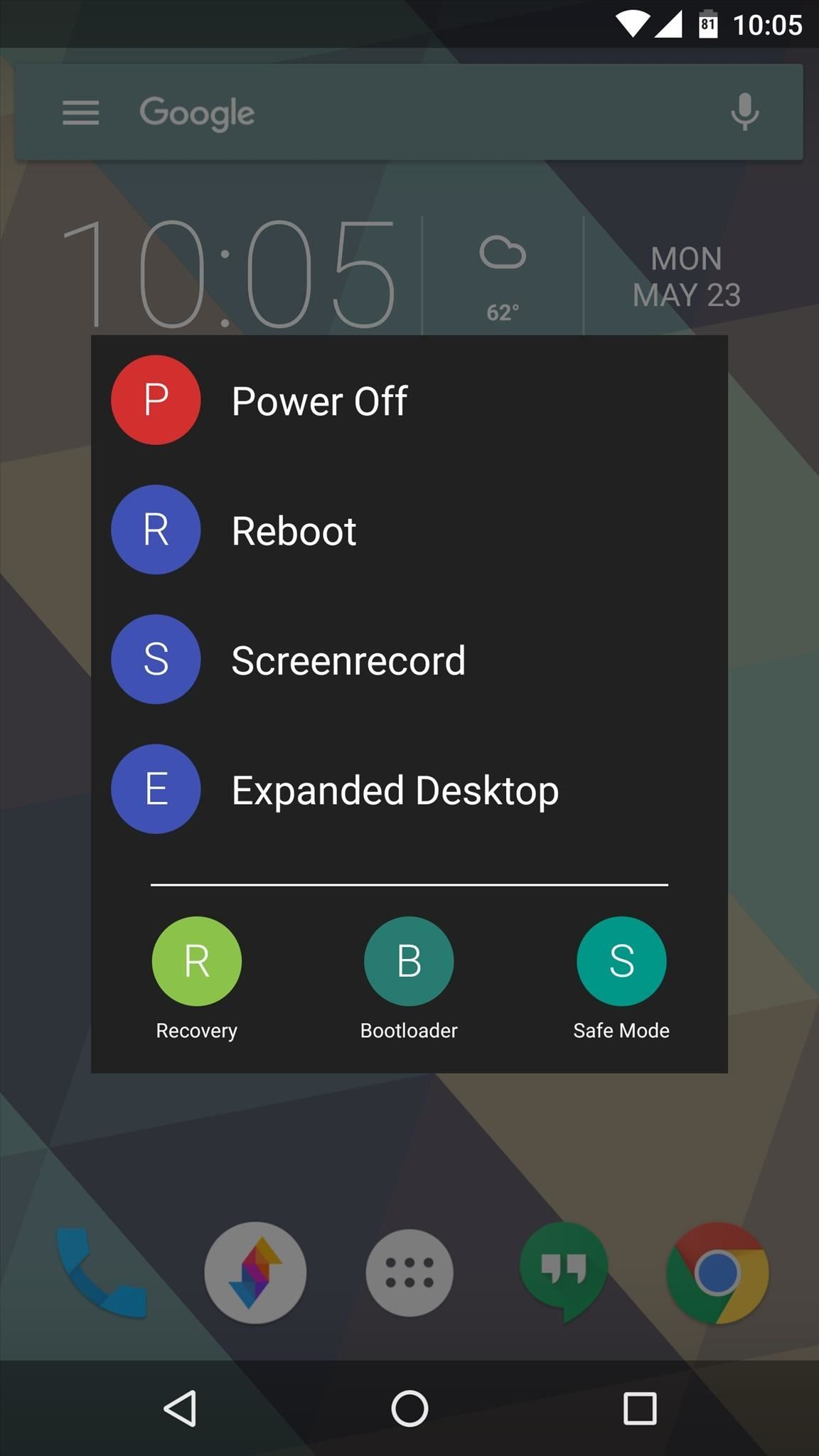 Give Your Android's Restart Menu More Power