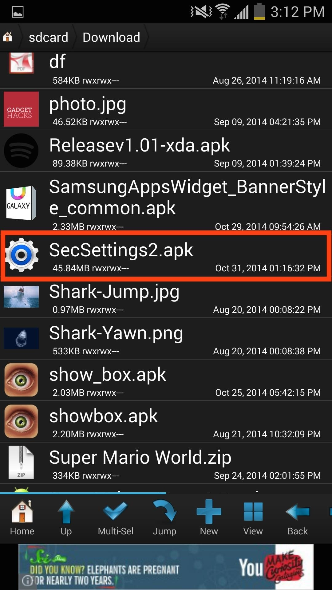 Hidden Android Settings Apk