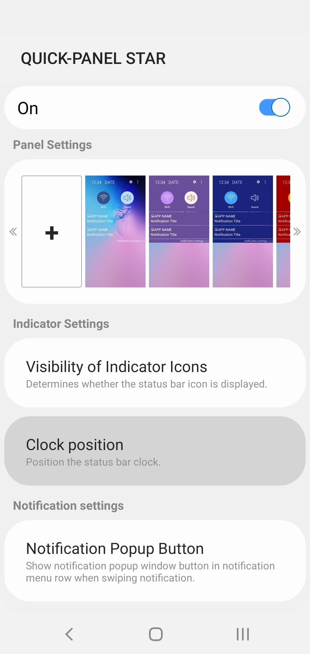 How to Move the Clock Back to the Right Side on Your Galaxy
