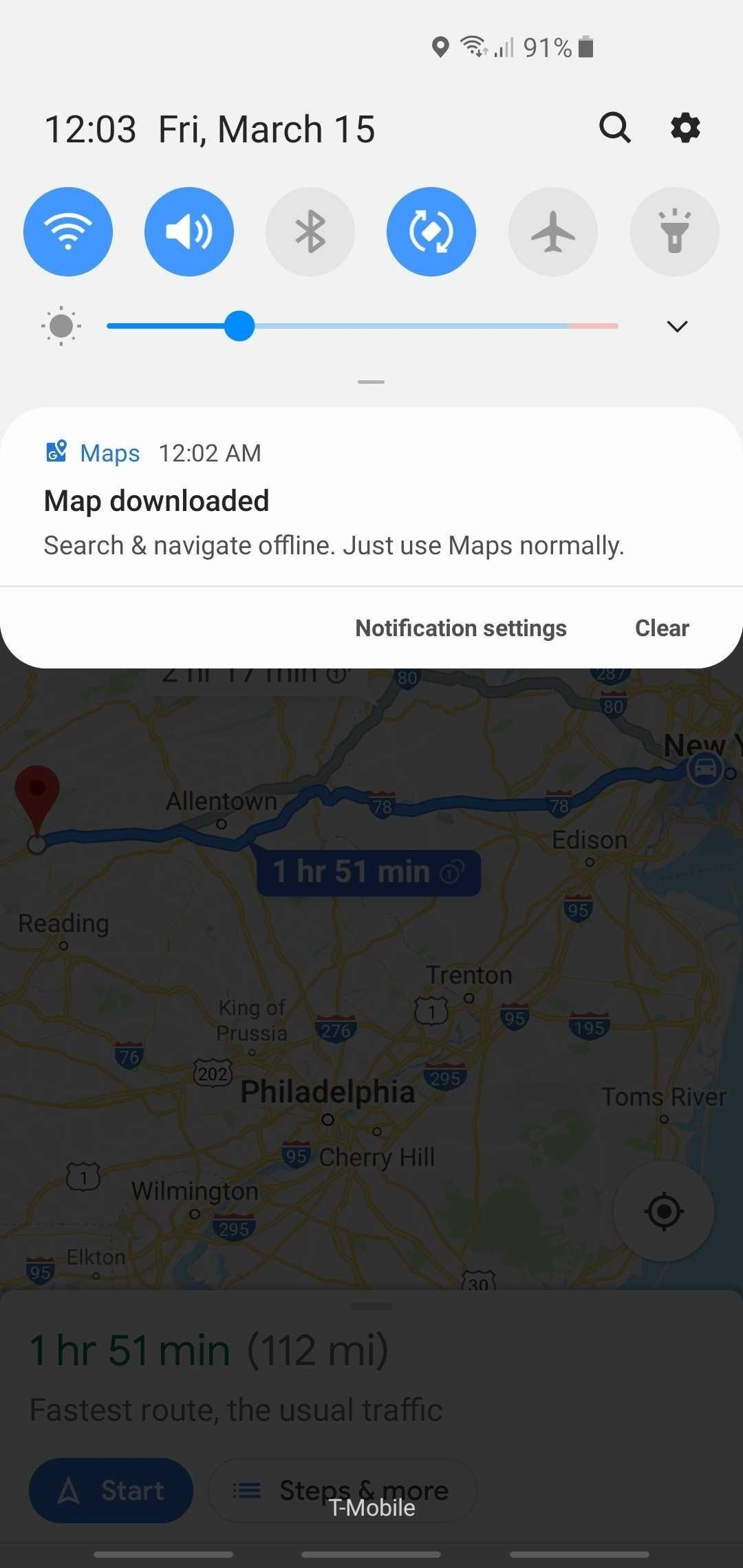 How to Download Entire Maps for Offline Use in Google Maps ... Google Maps Android Offline on google docs offline android, google chrome search, google maps android icon, city maps 2go android, google sync android,