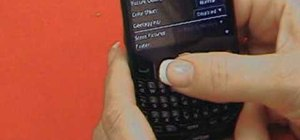 Use the Blackberry Curve 2