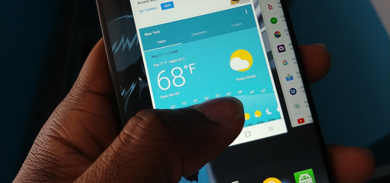 Enable the New Multitasking Swipe Gestures in Android 9.0 Pie