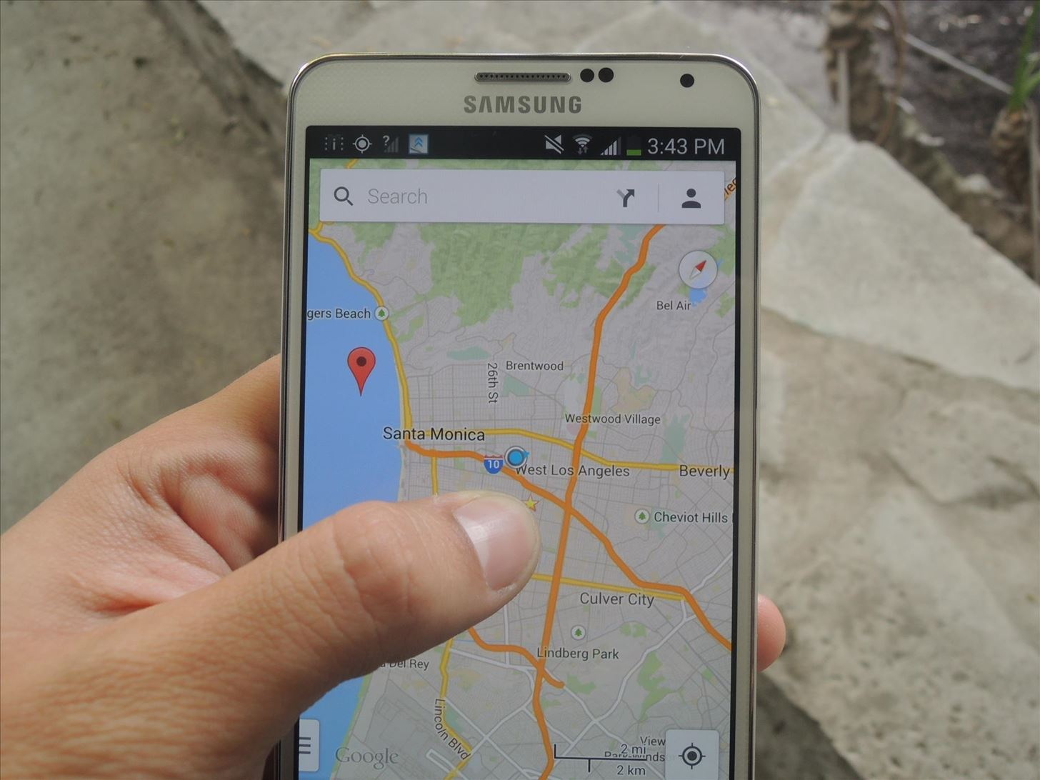 How to Revert Back to Google Map's Original One-Finger Zoom on the Galaxy Note 3