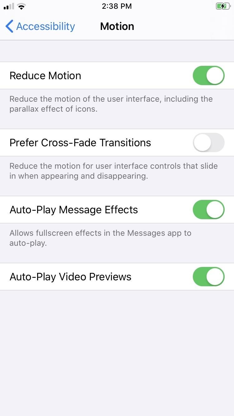 How to Set Cross-Fade Animations in iOS 13 for Smoother Lateral Transitions in Menus & Apps