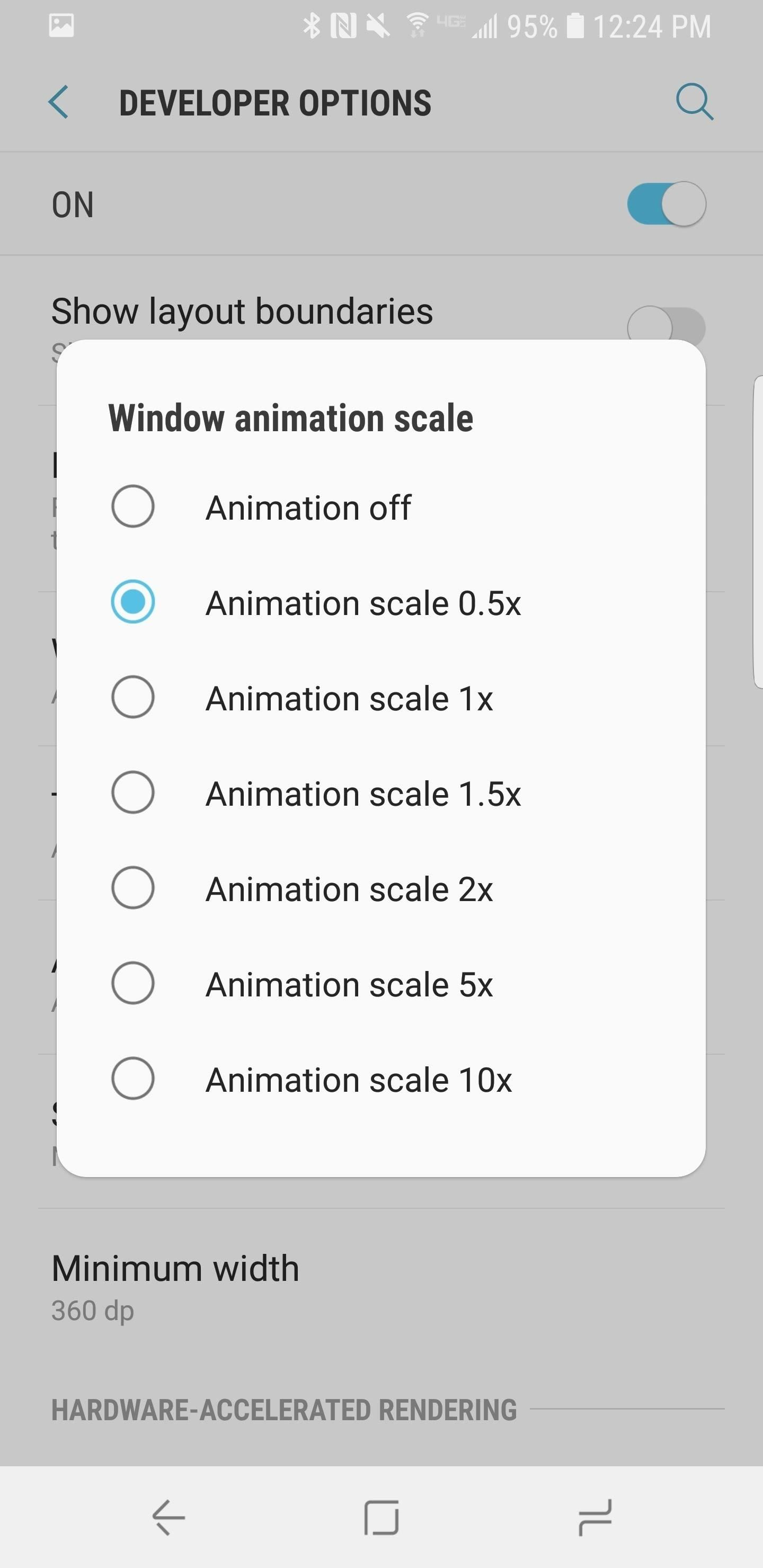 How To Speed Up Transitions Animations On Your Galaxy S9 Android 3 Way Switch Animation Our Recommendation Is Set All Three Of The Options 5x Scale This Will Double That Occur When You Move In And Out Apps