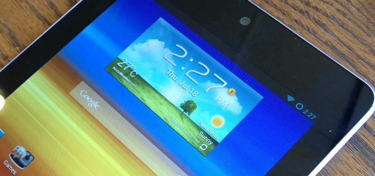 Turn Any Nexus 7 Tablet into a Samsung Galaxy Tab Running TouchWiz
