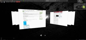 Get 3D Compiz-like effects in Firefox with FoxTab