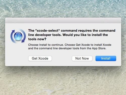 How to Install the Command Line Developer Tools Without Xcode « Mac