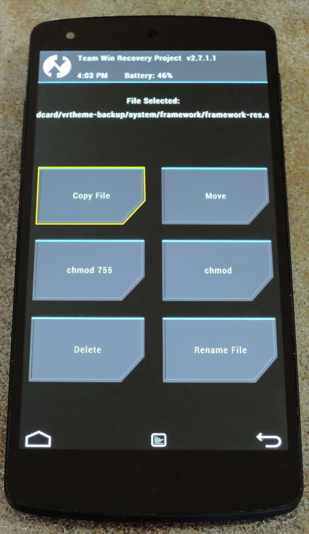 How to Get New Transition Animations on Your Nexus 5