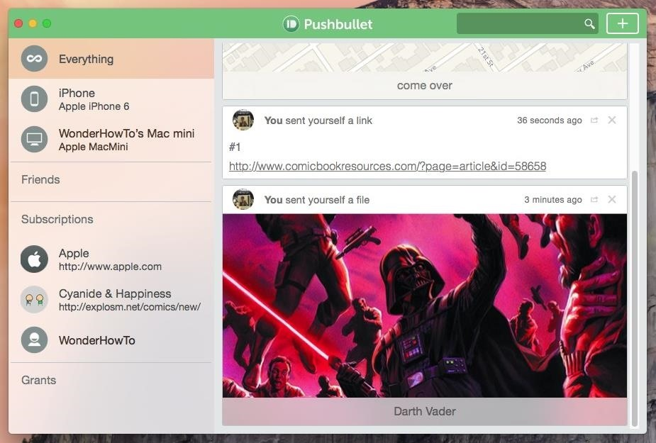 Connect Your iPhone to Your Mac Like Never Before with Pushbullet
