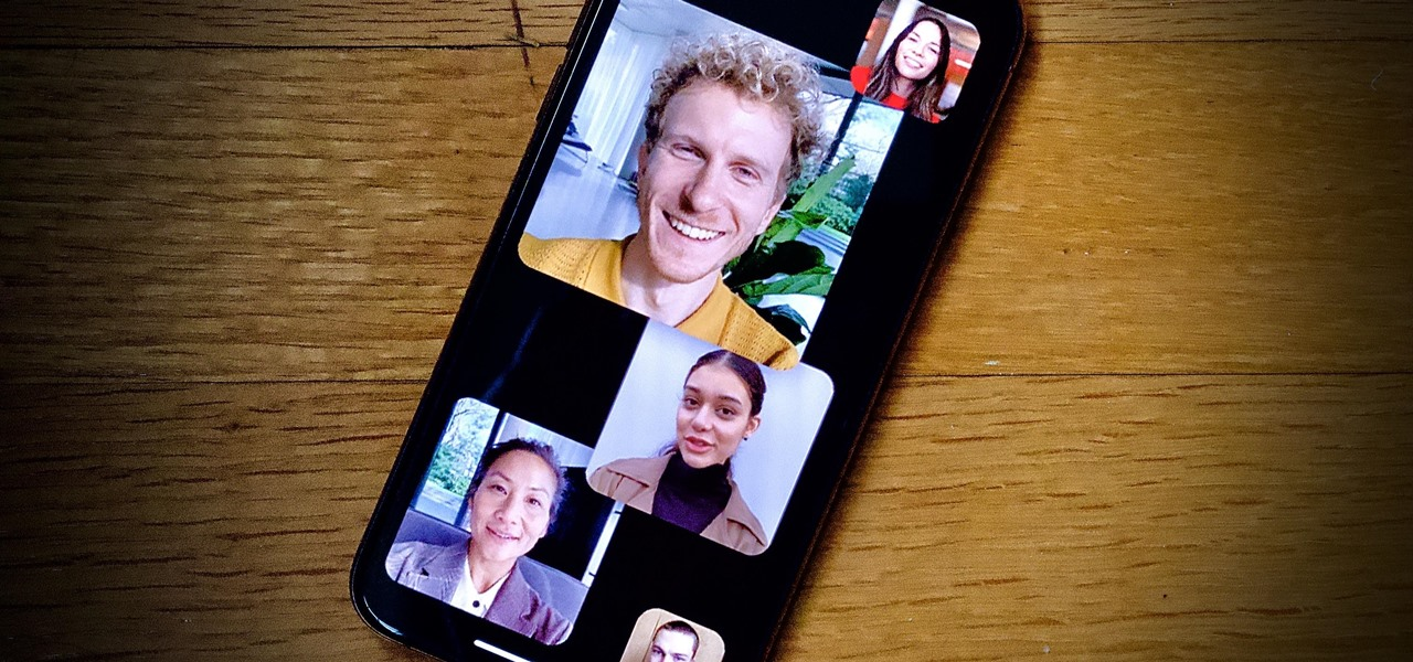 Stop Group FaceTime Tiles from Auto-Resizing & Moving When People Speak