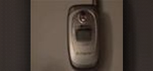 Use the LG C200 cell phone