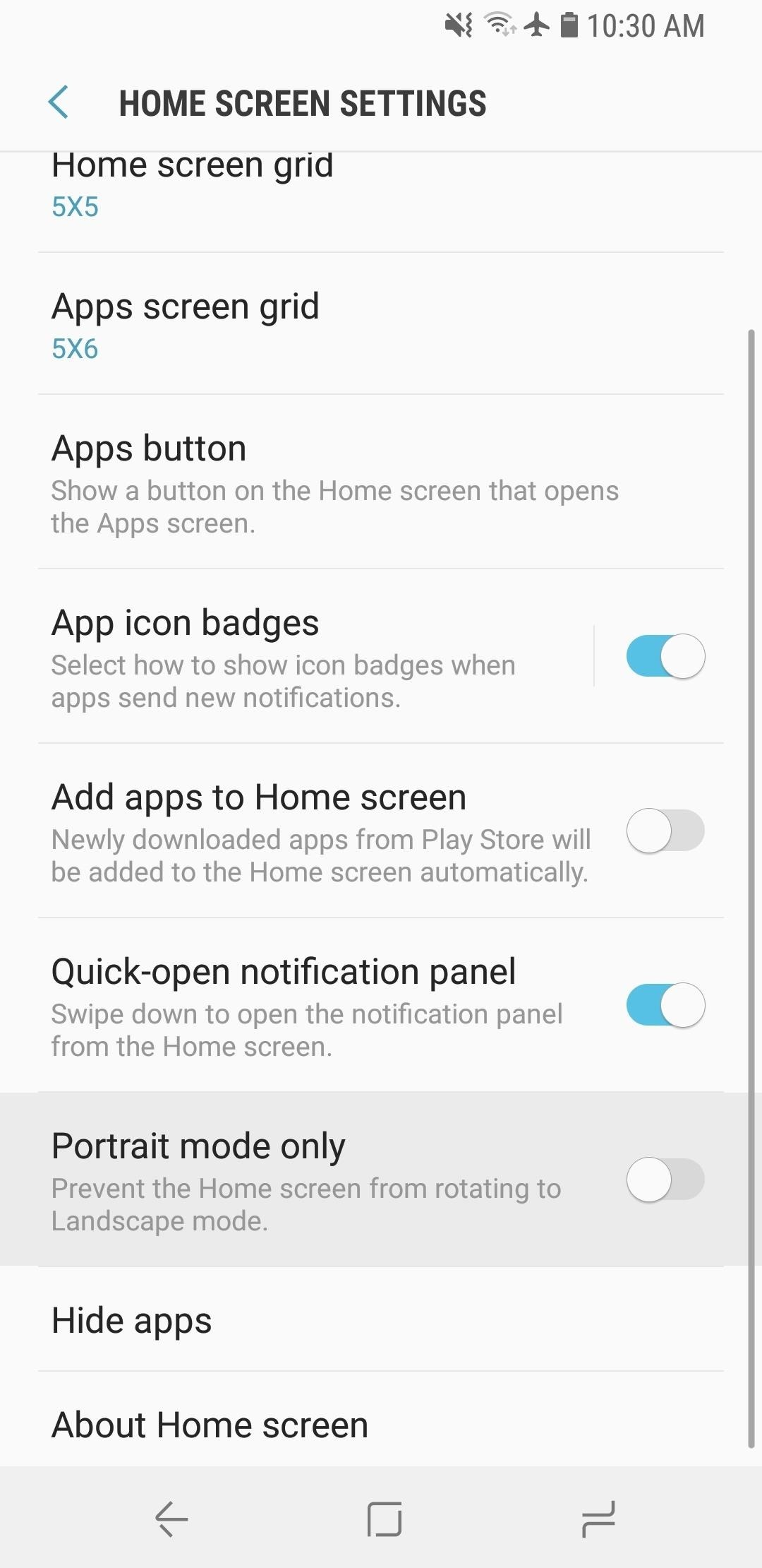 Here Are Some of the Cool New Home Screen Features on the Galaxy S9
