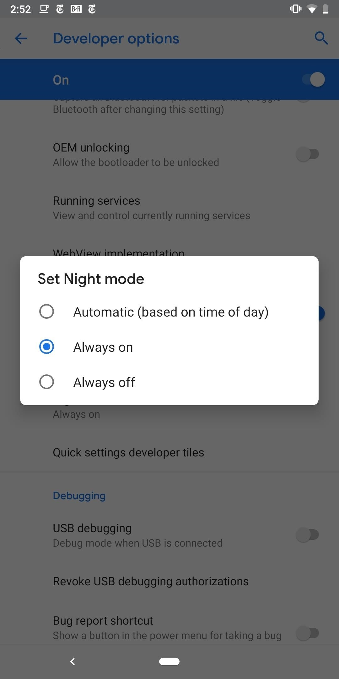 How to Enable Dark Mode in the Google Phone App