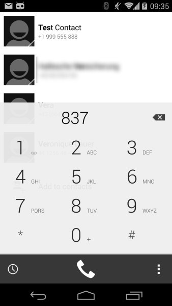 How to Theme the Stock Phone Dialer App on Your Nexus 5