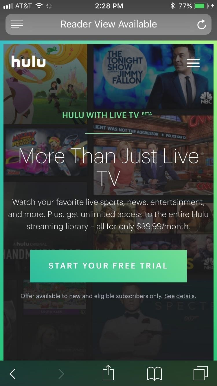 How to use a Hulu coupon Hulu is a free service that allows you to watch a variety of movies and TV shows online for free. You can opt for their Plus program that provides unlimited access and streaming for $8 per month. A one week free trial is available on the website.