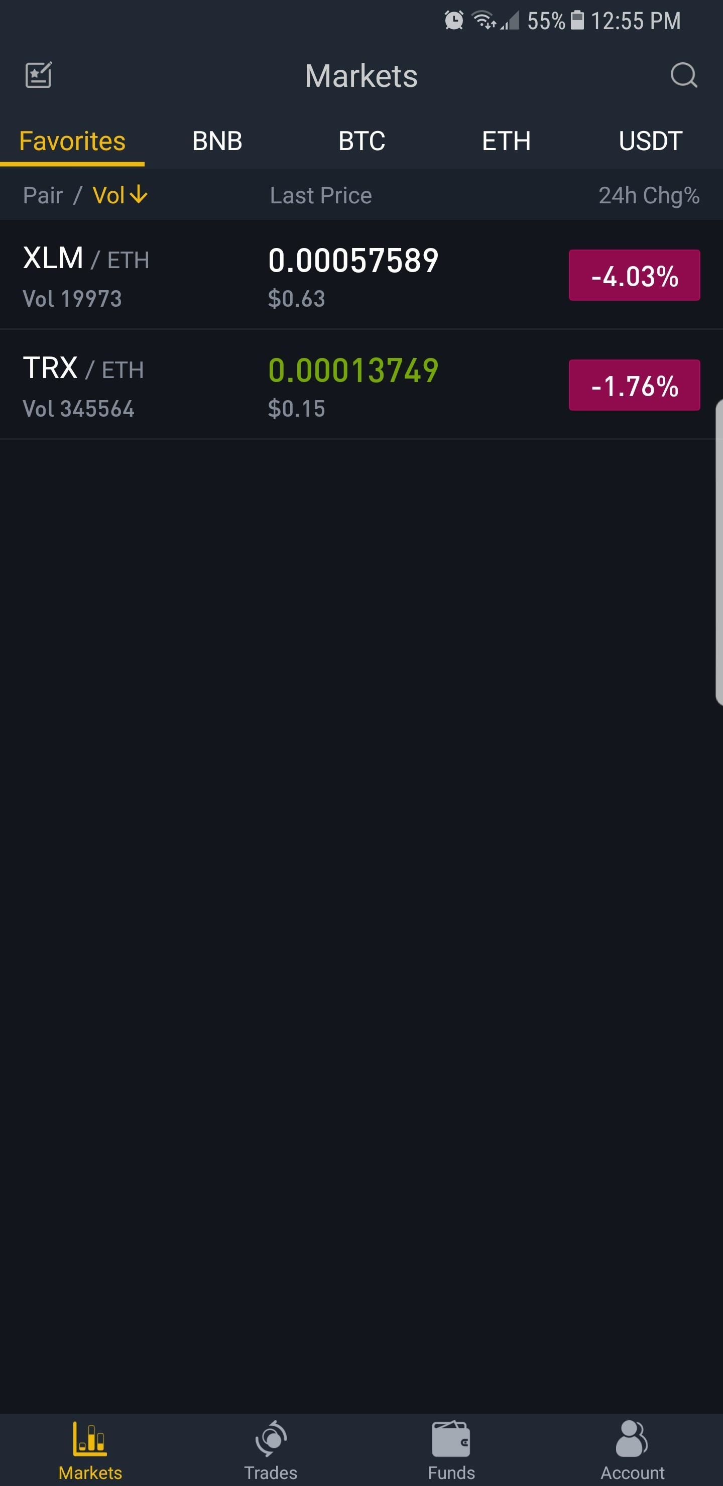 Now, choose your target wallet by either tapping on it from the list of  available coins or inputting its ticker in the search bar (LTC for  Litecoin, ETH for ...