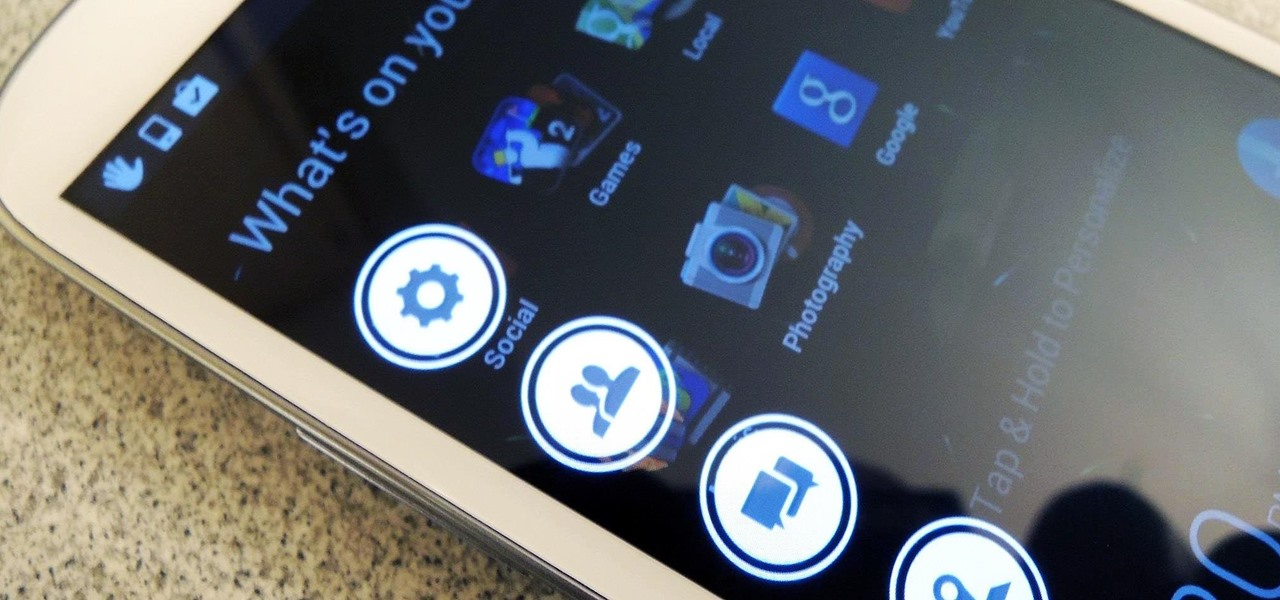 Add a Gesture-Based Launcher on Top of Your Samsung Galaxy S3's Current Launcher