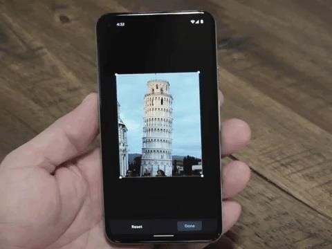 How to Adjust the Perspective of Pictures in Google Photos