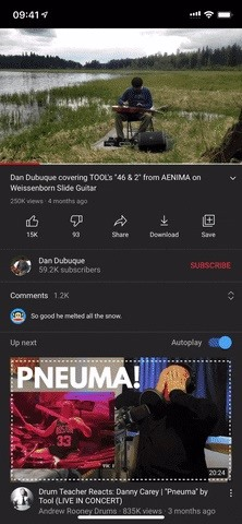 How to Play YouTube Videos in the Background on Your iPhone — Even When the Display Turns Off