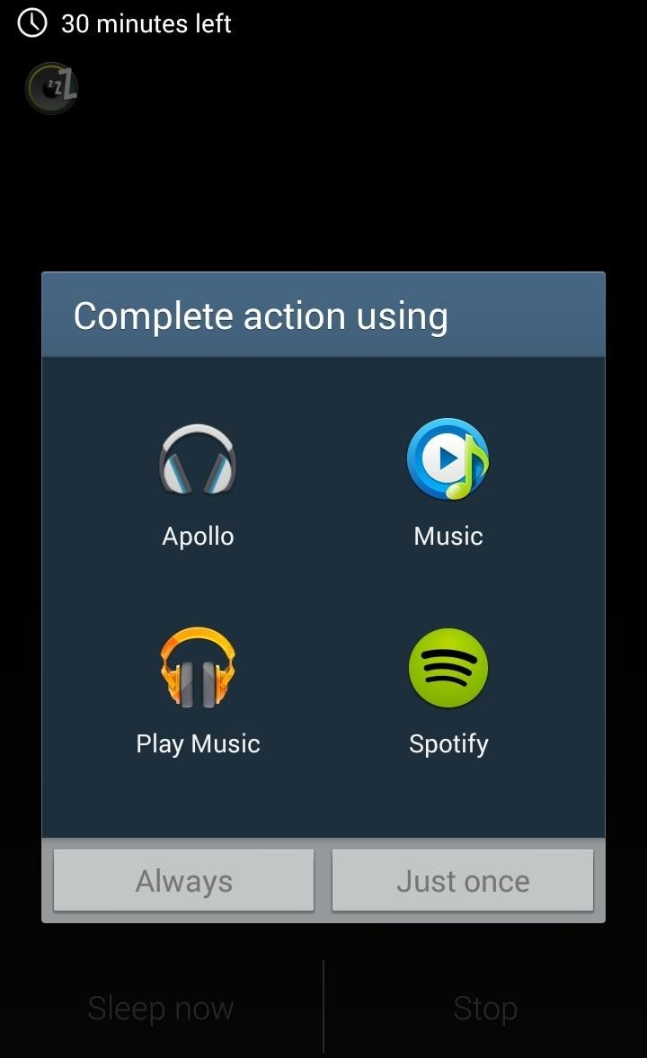 How to Add a Sleep Timer to Any Music Player on Your Samsung Galaxy S3