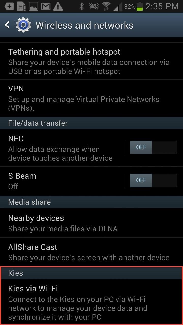 Part A: Transfer music from PC to Galaxy Note 2