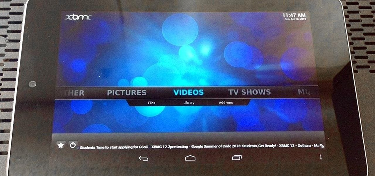 Play Any Kind of Music or Video File by Modding Your Nexus 7 into a Media Powerhouse