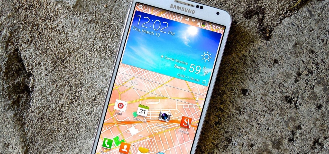 Set Your Current Location & Weather Forecast as Your Galaxy Note 3's Wallpaper