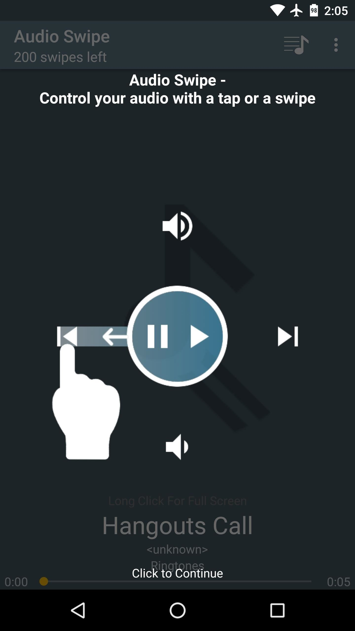 Swipe Your Screen to Skip Songs & Change Volume Without Even Looking