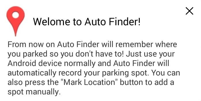 "How to Find Your ""Missing"" Parked Car Using Your Nexus Without Doing Any Work"