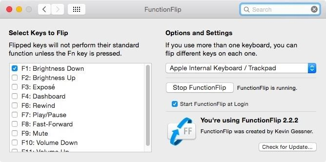 "Customize Your Mac's Top Keys to Control Either Functions or Built-in Features Without Using ""Fn"""