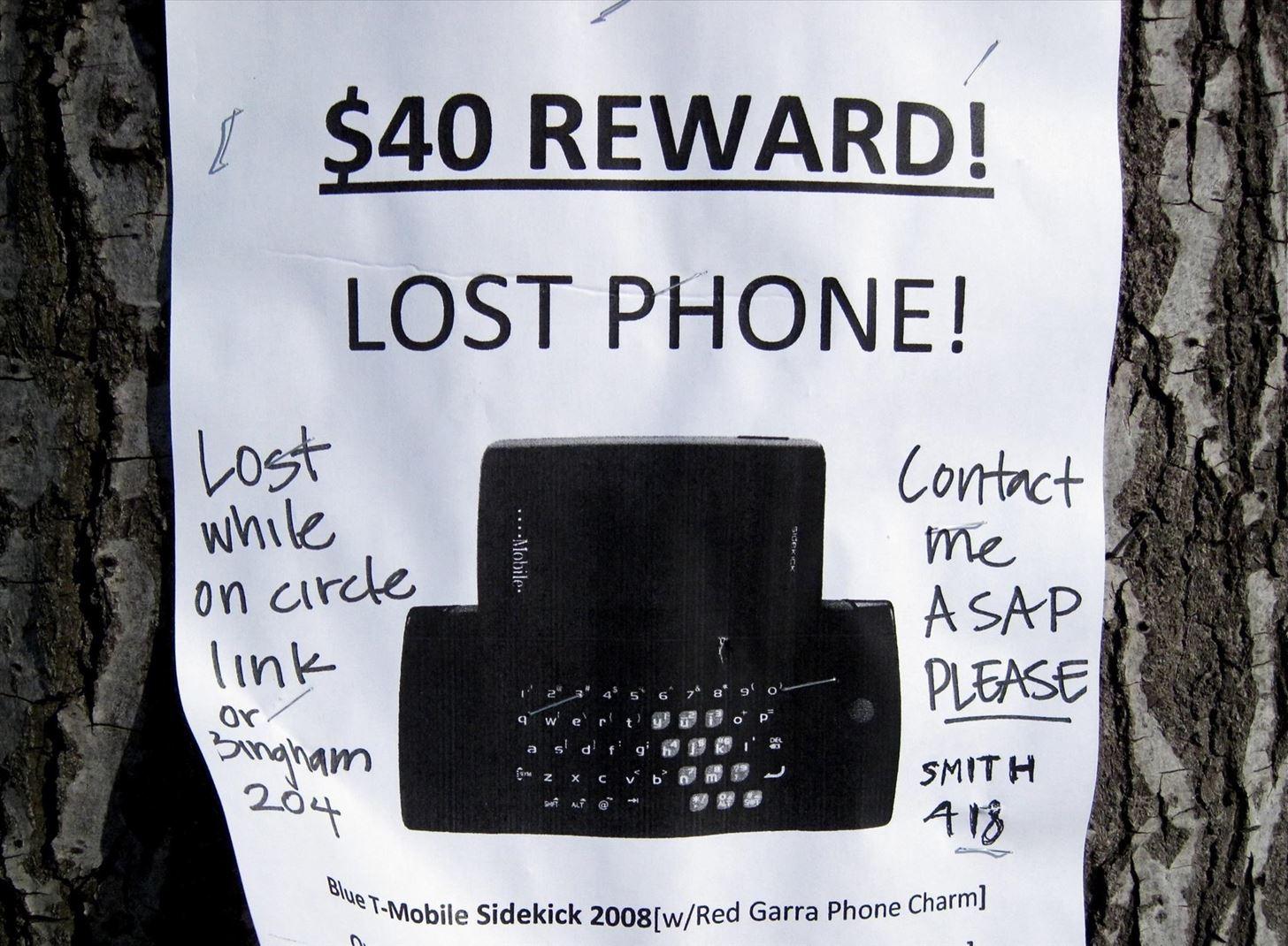 The Good Samaritan's Guide to Returning Lost Smartphones