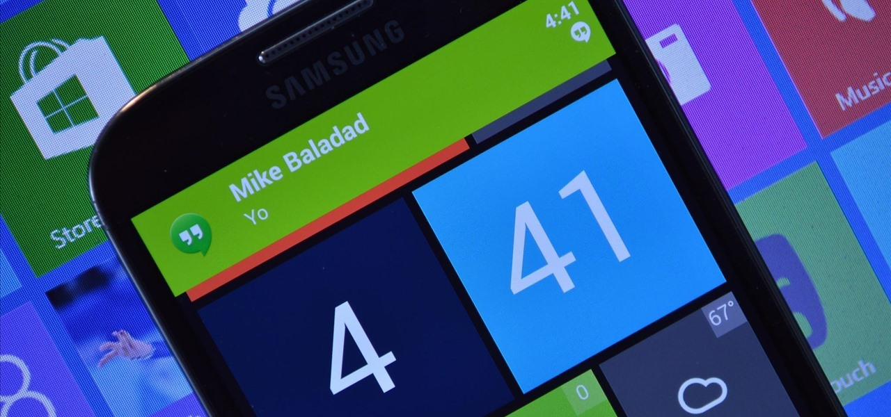 Get Windows Phone-Style Notifications on Your Samsung Galaxy S4