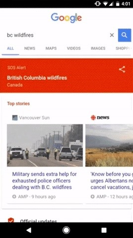 Google Partners with Red Cross & FEMA to Create SOS Alerts