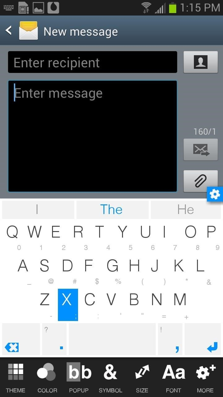 How to Type More Accurately & Efficiently on Your Samsung Galaxy S3 with WordWave's Intelligent Keyboard