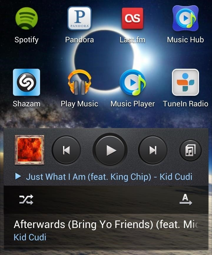 How to Control All of Your Music Apps from a Single Widget on Your Samsung Galaxy Note 2
