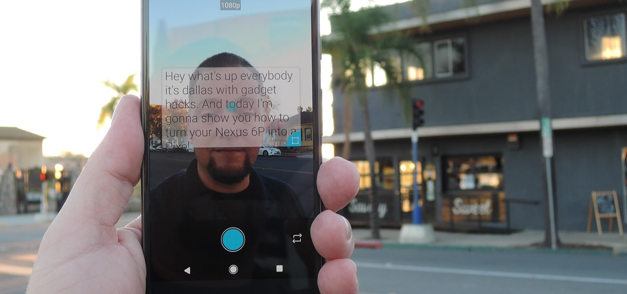 Perfect Video Selfies by Putting a Teleprompter on Your Android's Screen